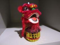香港微型舞狮节日中国文化 库存图片