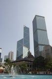 香港摩天大楼 免版税图库摄影