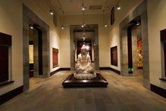 香港文化博物馆内部 免版税库存照片