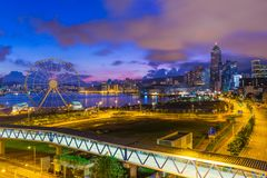 香港早晨 库存图片
