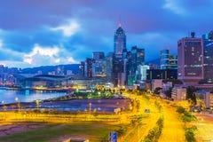 香港早晨 免版税库存照片