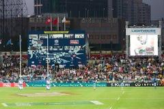香港橄榄球Sevens 2014年 免版税图库摄影