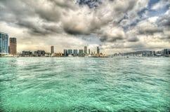 香港海湾  库存照片