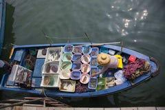 香港海鲜 免版税库存照片