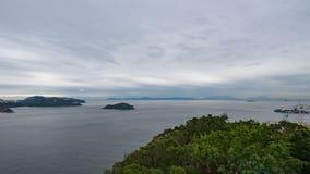 从香港海洋公园的看法 库存照片