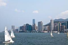 香港港口 库存照片