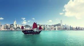 香港港口 免版税库存照片