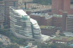 香港理工大学HK PolyU的看法 免版税库存照片