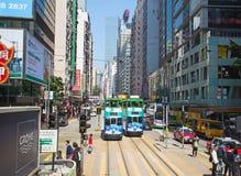 香港电车 图库摄影