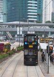 香港电车 库存照片