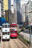 香港电车 免版税库存图片
