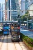 香港电车 库存图片