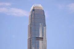 香港的国际金融中心 库存图片