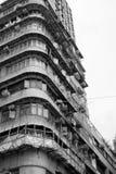 香港老apartement大厦 免版税库存照片