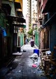香港胡同 免版税库存照片