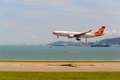 香港航空公司 库存照片