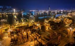 香港葵涌码头2016年 免版税图库摄影