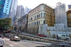 香港街视图 图库摄影