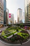 香港街道。 库存图片