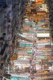 香港街道寺庙 库存图片