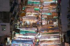 香港街道寺庙 图库摄影