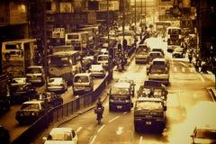 香港街道 免版税库存图片