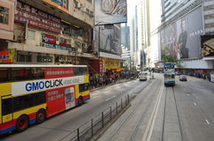 香港街道 免版税库存照片