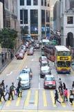 香港街道 库存照片