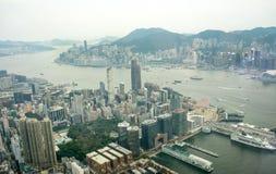 香港视图 免版税图库摄影