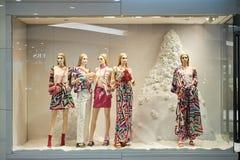 香港购物中心购物 图库摄影