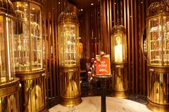 香港购物中心购物 库存照片