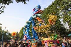 香港迪斯尼乐园 库存照片