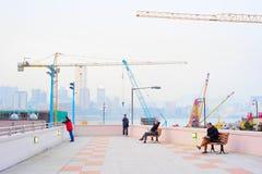 香港都市生活 库存照片
