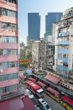 香港都市风景 免版税库存照片