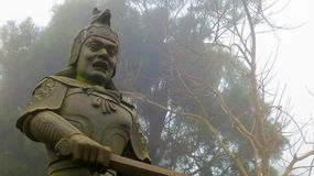 香港雕象 图库摄影