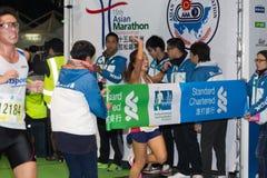 香港马拉松2015年 库存照片