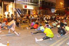 香港马拉松2013年 图库摄影