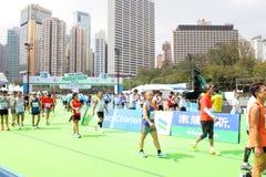 香港马拉松2013年 库存图片