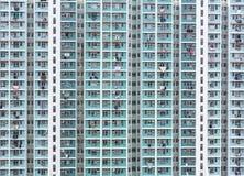 香港高密度住房 库存图片