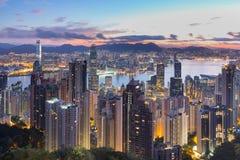 香港高峰电车 库存照片