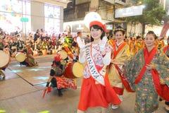 香港:Intl农历新年夜游行2015年 库存图片
