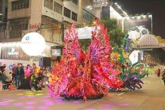 香港:Intl农历新年夜游行2015年 库存照片