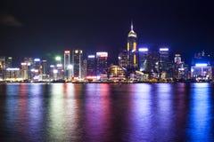 香港维多利亚港口 免版税图库摄影