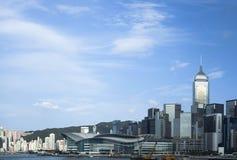 香港维多利亚港口 库存图片