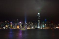 香港维多利亚港口 免版税库存图片