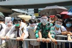 香港类抵制竞选2014年 图库摄影