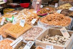 香港- 2015年12月04日:大埔墟 一个著名旅游胜地 免版税库存照片