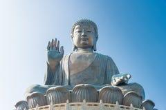 香港- 2015年12月11日:天狮Tan菩萨 一个著名旅游胜地 库存图片