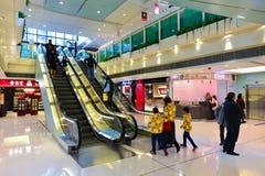 香港购物中心内部 免版税库存图片