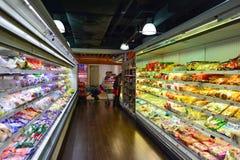 香港购物中心内部 免版税图库摄影